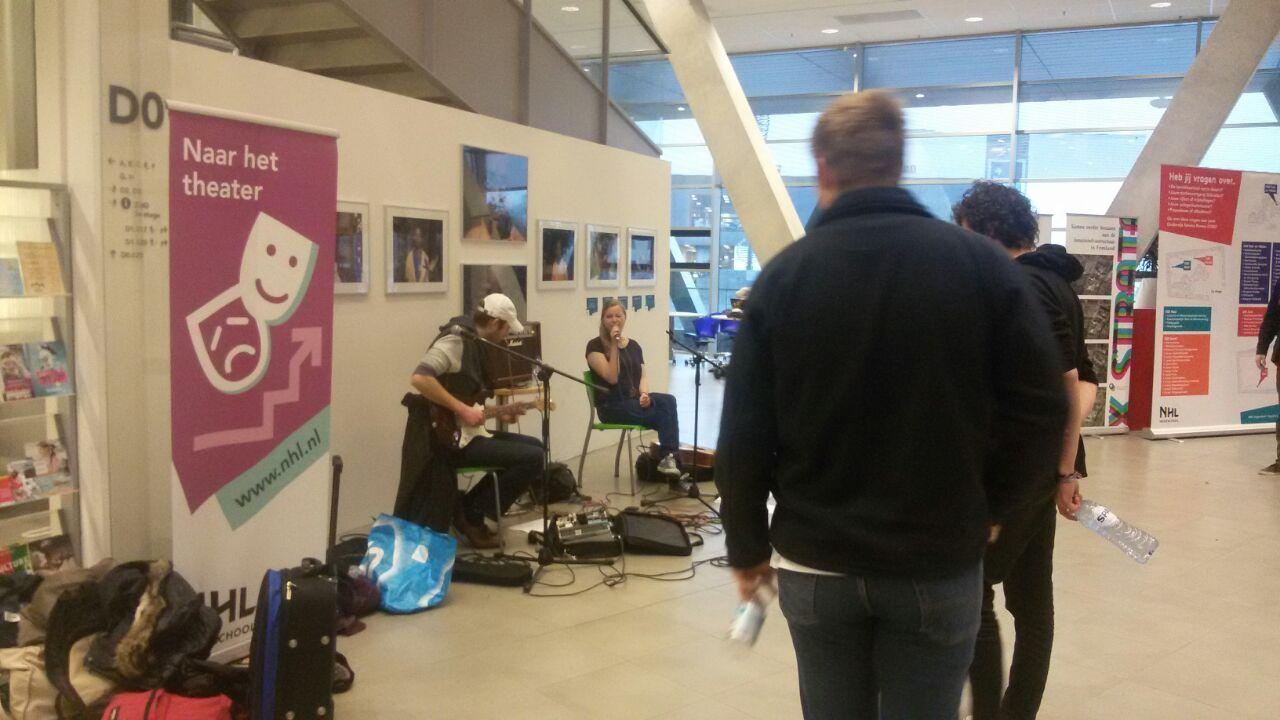Promo huiskamerconcerten Friesland Pop NHL 2014